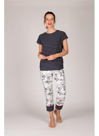 Hays Pijama Takım Lacivert